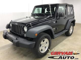 Used 2014 Jeep Wrangler Sport 4x4 Mags for sale in Trois-Rivières, QC