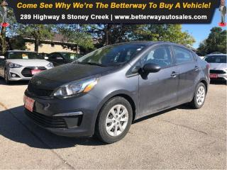 Used 2016 Kia Rio EX|NO ACCIDENTS!!|BLUTOOTH|FUEL SAVER for sale in Stoney Creek, ON