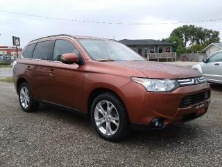 Used 2014 Mitsubishi Outlander GT for sale in Oak Bluff, MB