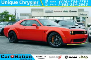 Used 2019 Dodge Challenger SRT HELLCAT REDEYE| 797HP| WIDEBODY| for sale in Burlington, ON