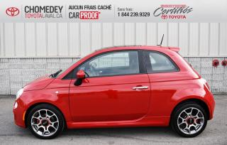 Used 2012 Fiat 500 SPORT, TOIT OUVRANT, AUTOMATIQUE for sale in Laval, QC