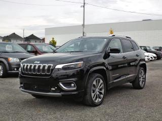 Used 2019 Jeep Cherokee OVERLAND 4X4 *CUIR*GPS*TECH PCKG*V6* for sale in Brossard, QC