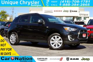 Used 2015 Mitsubishi RVR GT AWC| PREMIUM PKG| LEATHER| REAR CAM| HID & MORE for sale in Burlington, ON