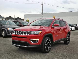 Used 2019 Jeep Compass LIMITED 4X4 *TOIT PANO*GPS*CUIR* for sale in Brossard, QC
