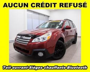 Used 2013 Subaru Outback 2.5i AWD BLUETOOTH SIÈGES CHAUFF *TOIT OUVRANT* for sale in St-Jérôme, QC