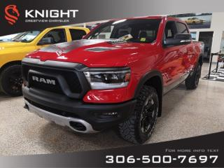 New 2020 RAM 1500 Rebel Crew Cab | Leather | Sunroof | Navigation | 12