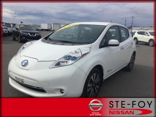 Used 2016 Nissan Leaf SL ***4 945 KM*** for sale in Beauport, QC