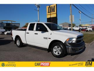 Used 2017 RAM 1500 4X4 QUAD SLT 5,7L CAMERA DÉMARREUR MIROIRS CAMPEUR for sale in Salaberry-de-Valleyfield, QC