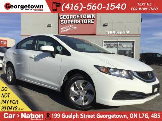 Used 2014 Honda Civic LX | HTD SEATS | AUX INPUT | BLU TOOTH | CRUISE for sale in Georgetown, ON
