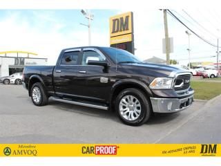 Used 2017 RAM 1500 4X4 CREW CUIR NAV CAMERA TOIT MAGS 20'' DÉMARREUR for sale in Salaberry-de-Valleyfield, QC