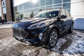 New 2020 Ford Escape Titanium Premium Package, Sunroof, Class II Trailer Tow Package! for sale in Okotoks, AB