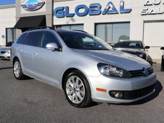 Used 2013 Volkswagen Golf Sportwagon 2.0L TDI HIGHLINE 6 SPEED MANUAL. for sale in Ottawa, ON
