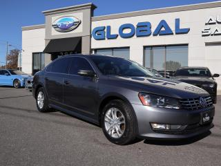 Used 2013 Volkswagen Passat 2.0L TDI HIGHLINE LEATHER SUNROOF. for sale in Ottawa, ON