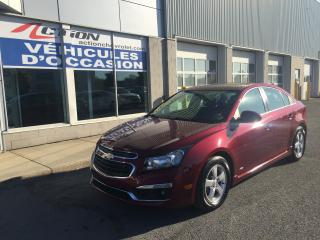 Used 2016 Chevrolet Cruze LT RS A/C TOIT MAG ET BAS KM for sale in St-Hubert, QC
