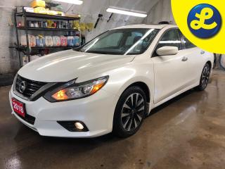Used 2018 Nissan Altima SV * Power sunroof * Phone connect * Voice recognition * Remote start * Nissan connect touchscreen * Back up camera * Forward collision warning system for sale in Cambridge, ON