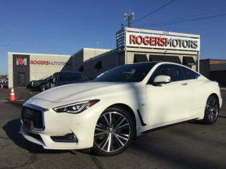 Used 2017 Infiniti Q60 3.0t AWD - NAVI - SUNROOF - 360 CAMERA for sale in Oakville, ON