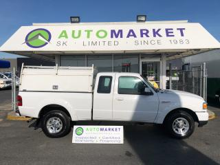 Used 2011 Ford Ranger Sport SuperCab 4-Door 2WD WORK CANOPY! FREE BCAA & WRNTY! for sale in Langley, BC