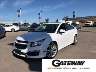 Used 2015 Chevrolet Cruze 2LT|SUNROOF|BLUETOOTH|LEATHER| for sale in Brampton, ON