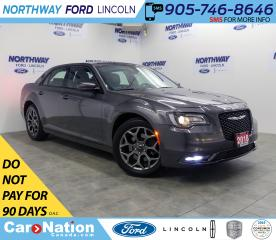Used 2018 Chrysler 300 S | AWD | NAV | PWR HTD LEATHER | PANOROOF | for sale in Brantford, ON