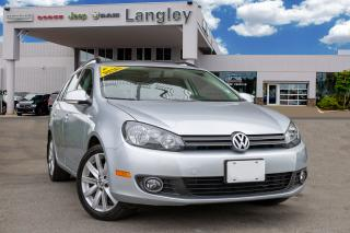 Used 2013 Volkswagen Golf 2.0 TDI Highline *HITCH* *DIESEL* *SUNROOF* for sale in Surrey, BC