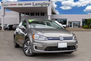 Used 2016 Volkswagen Golf e-Golf SE Electric, Up to 140km Range for sale in Surrey, BC