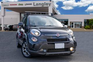 Used 2015 Fiat 500 L Trekking NAVIGATION, PANORAMIC SUNROOF, BLUETOOTH AND ROOF RAILS! for sale in Surrey, BC