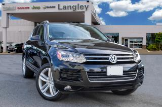 Used 2014 Volkswagen Touareg 3.0 TDI Execline DIESEL, LEATHER, PANORAMIC SUNROOF, AWD for sale in Surrey, BC