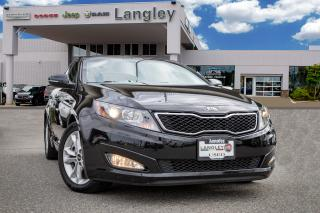 Used 2013 Kia Optima LX BACK-UP CAMERA, BLUETOOTH, PANORAMIC SUNROOF, LEATHER INTERIOR, TINTED WINDOWS! for sale in Surrey, BC