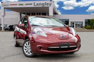 Used 2016 Nissan Leaf S ALL ELECTRIC for sale in Surrey, BC