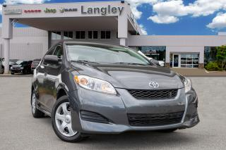 Used 2010 Toyota Matrix MULTI-MEDIA JACK, HEATED MIRRORS! for sale in Surrey, BC
