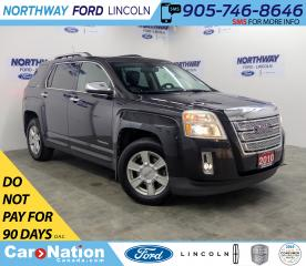 Used 2010 GMC Terrain SLT-2 | AWD | HTD LEATHER | BACKUP CAM | SUNROOF | for sale in Brantford, ON