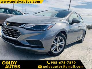 Used 2018 Chevrolet Cruze 4dr Sdn 1LT/w1LT for sale in Mississauga, ON