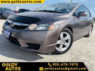 Used 2009 Honda Civic Sdn Sport for sale in Mississauga, ON