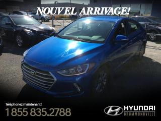 Used 2018 Hyundai Elantra GL + GARANTIE + BLUETOOTH + CAMERA + WOW for sale in Drummondville, QC