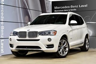 Used 2017 BMW X3 xDrive28i for sale in Laval, QC