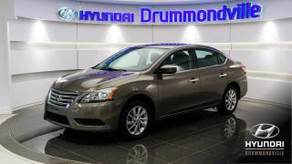 Used 2015 Nissan Sentra SV + GARANTIE + TOIT + MAGS + CAMÉRA + S for sale in Drummondville, QC