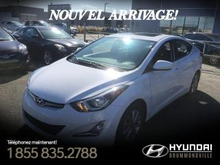 Used 2015 Hyundai Elantra SE + GARANTIE + TOIT + MAGS + CRUISE + B for sale in Drummondville, QC