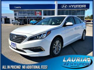 Used 2015 Hyundai Sonata GL Auto - VERY LOW KMS for sale in Port Hope, ON