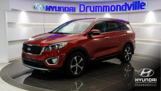 Used 2017 Kia Sorento EX V6 AWD + GARANTIE + MAGS + CUIR + ANG for sale in Drummondville, QC