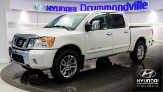 Used 2012 Nissan Titan SL + 4X4 + CUIR + MAGS + DVD + ROCKFORD for sale in Drummondville, QC