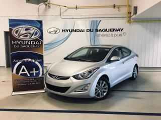 Used 2014 Hyundai Elantra *BAS KILOMÉTRAGE* for sale in Jonquière, QC