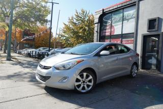 Used 2013 Hyundai Elantra Berline 4 p, auto Limited avec Navi *Dis for sale in Laval, QC