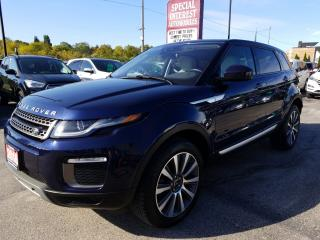 Used 2016 Land Rover Evoque HSE !! NAVIGATION !! HEATED LEATHER !! REAR CAMERA!! for sale in Cambridge, ON