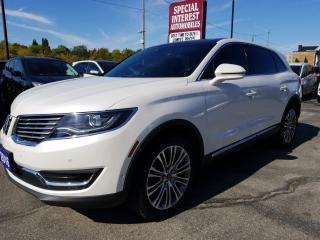 Used 2016 Lincoln MKX Reserve NAVIGATION !!  SUNROOF !!  LEATHER !! AWD for sale in Cambridge, ON