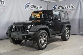 Used 2015 Jeep Wrangler SPORT 4X4 A/C MAG DE RUBICON for sale in Montréal, QC