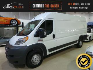 Used 2018 RAM ProMaster 3500 HIGHROOF| 159WB EXT| 3PASSENGER for sale in Vaughan, ON