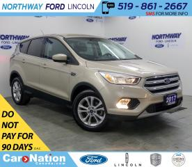 Used 2017 Ford Escape SE | HTD SEATS | BACKUP CAM | BLUETOOTH | for sale in Brantford, ON