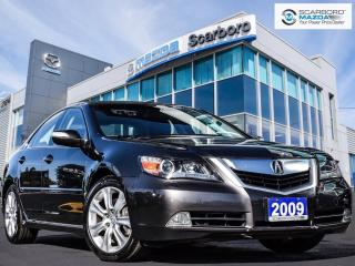 Used 2009 Acura RL RL|ELITE|AWD|NAVI|1 OWNER for sale in Scarborough, ON