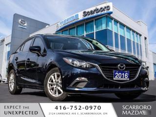 Used 2016 Mazda MAZDA3 GS|FREE NEW WINTER TIRES|NAVIGATION|SUNROOF for sale in Scarborough, ON