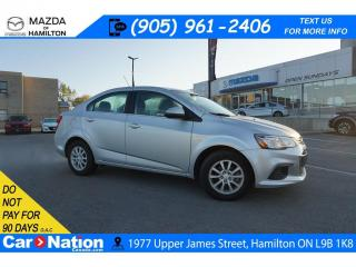 Used 2018 Chevrolet Sonic LT Auto LT | REAR CAM | XM RADIO | HEATED SEATS | CARPLAY for sale in Hamilton, ON